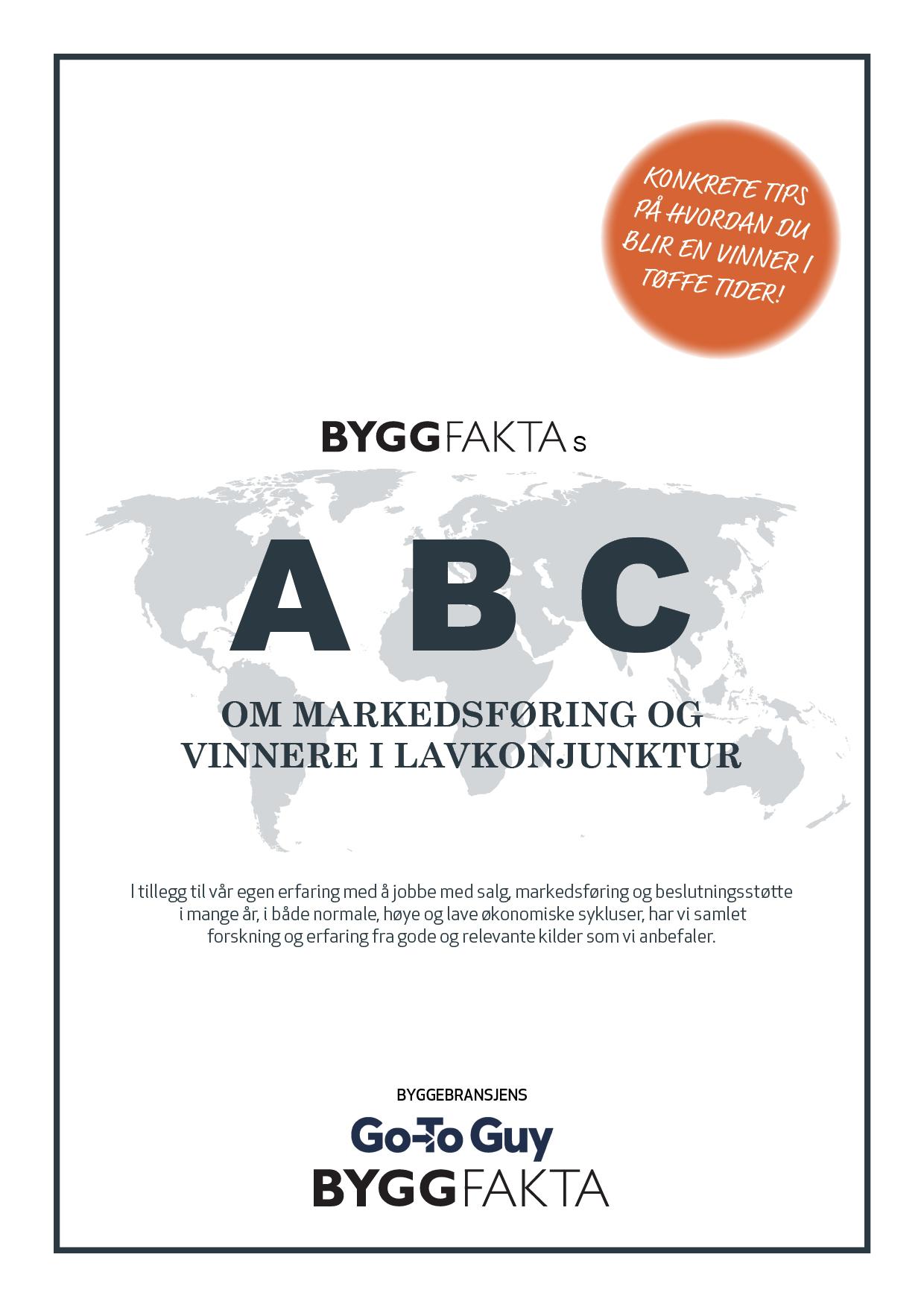 Byggfakta ABC rapport forside